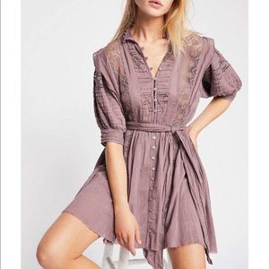 NWT Free People One Sydney Dress size-Medium